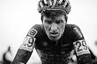 Jim Aernouts (BEL/Telenet-Fidea) post-race<br /> <br /> Noordzeecross - Middelkerke 2016