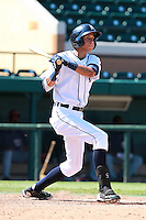 Detroit Tigers outfielder Edwin Gomez (14) during a game vs. the Washington Nationals in an Instructional League game at Joker Marchant Stadium in Lakeland, Florida;  October 1, 2010.   Photo By Mike Janes/Four Seam Images