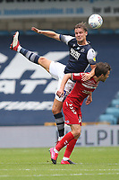 Matt Smith of Millwall and Jonathan Howson of Middlesbrough during Millwall vs Middlesbrough, Sky Bet EFL Championship Football at The Den on 8th July 2020