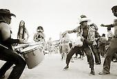 Black Rock Desert, Nevada<br /> USA<br /> August 2003<br /> <br /> Burning Man festival.