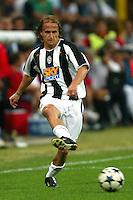 Milano 27/7/2004 Trofeo Tim - Tim tournament <br /> <br /> <br /> <br /> David Baiocco Juventus<br /> <br /> <br /> <br /> Inter Milan Juventus <br /> <br /> Inter - Juventus 1-0<br /> <br /> Milan - Juventus 2-0<br /> <br /> Inter - Milan 5-4 d.cr - penalt.<br /> <br /> <br /> <br /> Photo Andrea Staccioli Insidefoto