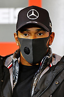 8th October 2020, Nuerburgring, Nuerburg, Germany; FIA Formula 1 Eifel Grand Prix;  44 Lewis Hamilton GBR, Mercedes-AMG Petronas Formula One Team