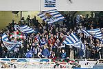 Real Sociedad's supporters during La Liga match. April 9,2016. (ALTERPHOTOS/Acero)