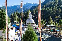 Chendebji, Bhutan.  Chendebji Chorten, 19th. Century.