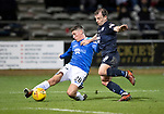 Dundee v St Johnstone…29.12.18…   Dens Park    SPFL<br />Ross Callachan and Paul McGowan<br />Picture by Graeme Hart. <br />Copyright Perthshire Picture Agency<br />Tel: 01738 623350  Mobile: 07990 594431