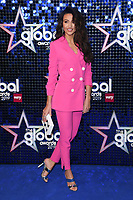 Michelle Keegan<br /> arriving for the Global Awards 2019 at the Hammersmith Apollo, London<br /> <br /> ©Ash Knotek  D3486  07/03/2019
