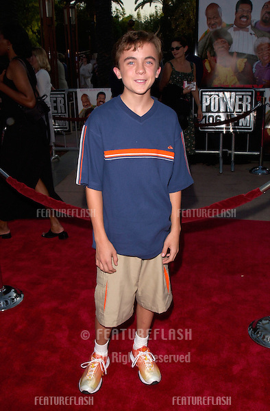 Actor FRANKIE MUNIZ at the world premiere, at the Universal Amphitheatre Hollywood, of Nutty Professor II: The Klumps.