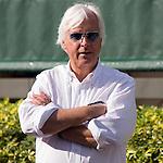 HALLANDALE BEACH, FL - JANUARY 27: Bob Baffert  at Gulfstream Park. (Photo by Arron Haggart/Eclipse Sportswire/Getty Images