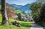 Austria, Tyrol, Alpbach: picturesque village at Alpbach Valley within the Kitzbuehel Alps   Oesterreich, Tirol, Alpbach: malerisches Dorf im Alpbachtal in den Kitzbueheler Alpen