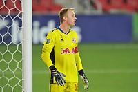 WASHINGTON, DC - SEPTEMBER 12: Ryan Meara #18 of New York Red Bulls during a game between New York Red Bulls and D.C. United at Audi Field on September 12, 2020 in Washington, DC.