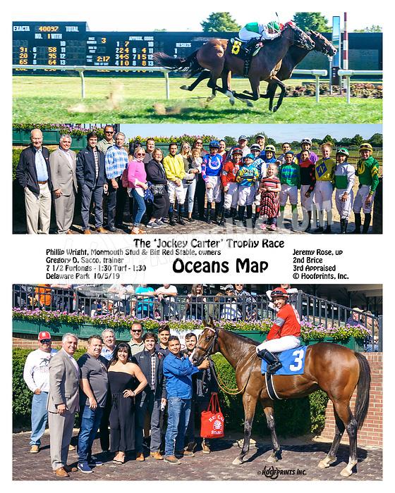 Oceans Map winning at Delaware Park on 10/5/19