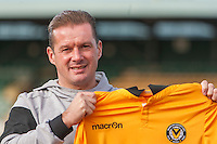 2016 12 01 Graham Westley, Newport County manager, Wales, UK