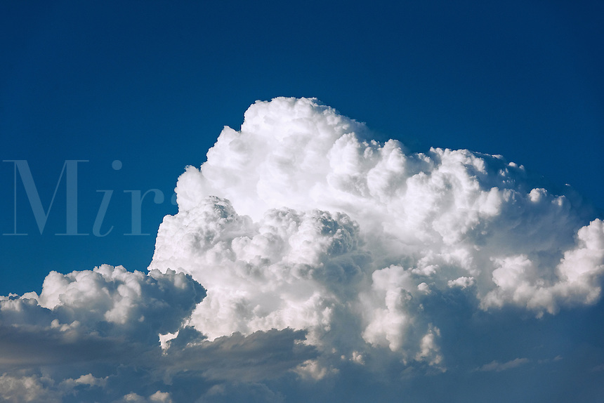 Cloud formation.