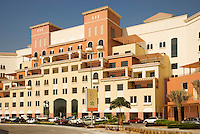 Dubai.  Healthcare City.  Major development in Dubai designed to attract hospitals, medical facilities, pharmaceutical companies and clinics as their base in the Middle East..