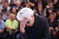JIM JARMUSCH - PHOTOCALL DU FILM 'GIMME DANGER' - 69EME FESTIVAL DE CANNES