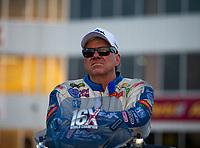 May 4, 2018; Commerce, GA, USA; NHRA funny car driver John Force during qualifying for the Southern Nationals at Atlanta Dragway. Mandatory Credit: Mark J. Rebilas-USA TODAY Sports