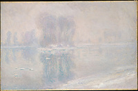 Ice Floes, 1893, by Claude Monet (1840–1926). The Metropolitan Museum of Art, New York.