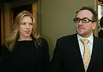 Diana Krall and Elvis Costello Attending the Opening Night Performance of THE LOOK OF LOVE ... THE SONGS OF BURT BACHARACH  and HAL DAVID at the Brooks Atlinson Theater,<br />