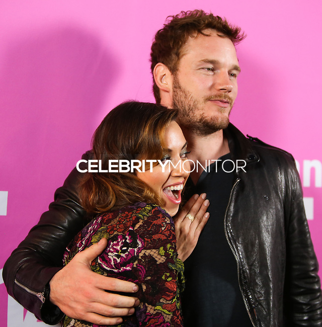 LOS ANGELES, CA, USA - AUGUST 08: Aubrey Plaza and Chris Pratt arrive at the Sundance NEXT FEST Screening Of 'Life After Beth' held at the Ace Hotel Theatre on August 8, 2014 in Los Angeles, California, United States. (Photo by Xavier Collin/Celebrity Monitor)