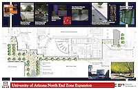 University of Arizona North End Expansion--Site Plan. Joy LYndes, Landscape Architect.