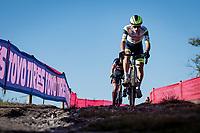 Quinten Hermans (BEL/Tormans - Circus)<br /> <br /> Elite Men's Race<br /> 2021 UCI cyclo-cross World Cup - Zonhoven (BEL)<br /> <br /> ©kramon