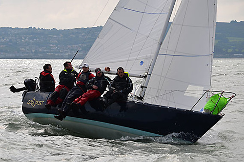 Scorie Walls and Declan Browne's Gold Dust powered by North Sails