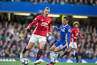 during the EPL - Premier League match between Chelsea and Manchester United at Stamford Bridge, London, England on 23 October 2016. Photo by Andy Rowland / PRiME Media Images.
