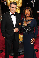 HOLLYWOOD, LOS ANGELES, CA, USA - MARCH 02: Roderick Spencer, Alfre Woodard at the 86th Annual Academy Awards held at Dolby Theatre on March 2, 2014 in Hollywood, Los Angeles, California, United States. (Photo by Xavier Collin/Celebrity Monitor)