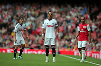 Pictured: Scott Sinclair of Swansea City in action. Saturday 10 September 2011<br />