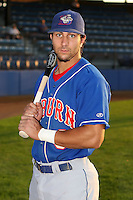 Sept. 6th, 2007:  Darin Mastroianni of the Auburn Doubledays, Class-A affiliate of the Toronto Blue Jays at Russell Diethrick Park in Jamestown, NY.  Photo by:  Mike Janes/Four Seam Images