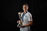 USWNT WWC Victory Trophy Post Game, July 5, 2015