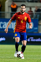 Nacho Fernandez of Spain during the friendly match between Spain and Colombia at Nueva Condomina Stadium in Murcia, jun 07, 2017. Spain. (ALTERPHOTOS/Rodrigo Jimenez) (NortePhoto.com) (NortePhoto.com)