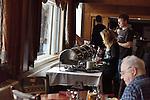 Breakfast buffet  at The Mountain Top Inn and Resort near Kilington, Vermont