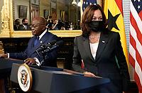 Kamala Harris with President of Ghana