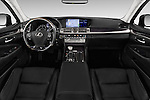Stock photo of straight dashboard view of 2016 Lexus LS L 4 Door Sedan 2WD Dashboard