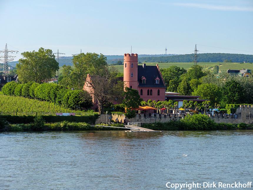 Hotel Burg Crass in Eltville, Hessen, Deutschland, Europa<br /> Hotel Burg Crass in Eltville, Hesse, Germany, Europe