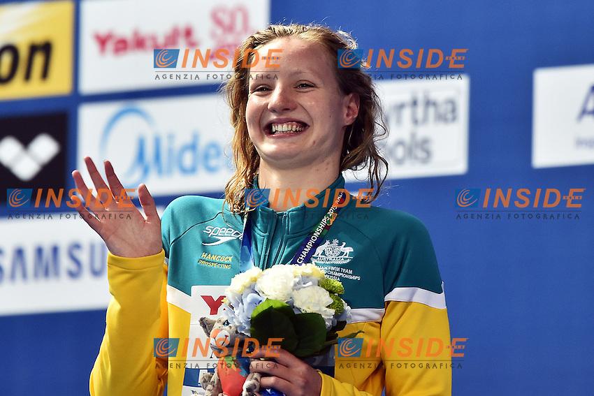 ASHWOOD Jessica AUS Bronze Medal Women's 400m Freestyle <br /> Day10 02/08/2015 Kazan Arena <br /> Swimming Nuoto <br /> XVI FINA World Championships Aquatics  <br /> Kazan Tatarstan RUS <br /> Photo Andrea Staccioli/Deepbluemedia/Insidefoto
