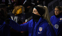 COLUMBUS, OH - NOVEMBER 07: Julie Ertz #8 of the United States during a game between Sweden and USWNT at MAPFRE Stadium on November 07, 2019 in Columbus, Ohio.