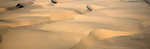 Sand dunes at the Skeleton Coast, Namibia.