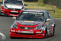 Round 7 of the 2005 British Touring Car Championship. #10. James Kaye (GBR). Synchro Motorsport. Honda Civic Type-R.