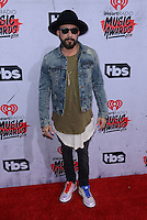 A.J. McLean @ the 2016 iHeart Radio Music awards held @ the Forum.<br /> April 3, 2016