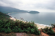 Danang, February 1988. Beautiful view from the main highway number 1, just before ariving to Danang.