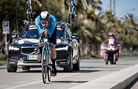 Albert Torres (ESP/Movistar)<br /> <br /> Final stage 7 (ITT) from San Benedetto del Tronto to San Benedetto del Tronto (10.1km)<br /> <br /> 56th Tirreno-Adriatico 2021 (2.UWT) <br /> <br /> ©kramon