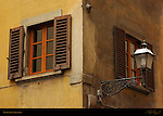 Florentine Shutters Medieval apartments Florence