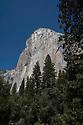 September 2014 / Yosemite National Park landscapes / El Capitan from  El Capitan Bridge / Photo by Bob Laramie