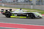 Sean Rayhall (14), Comprent Motorsports driver in action during the ALMS/WEC practice sessions at the Circuit of the Americas race track in Austin,Texas.