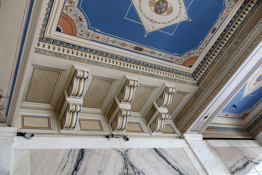 Lobby Ceiling (2) - Daniels & Fisher Tower