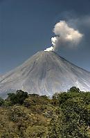 Volcan de Colima, Mexico (Color)