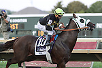 September 19, 2015. Mr. Z , Luis Saez up, has the early lead in the $1,000,000 Grade II Pennsylvania Derby, one and 1/8th miles for three-year-olds, at  Parx Racing in Bensalem, PA.  (Joan Fairman Kanes/ESW/CSM)