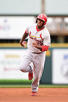 Palm Beach Cardinals first baseman David Washington (26) during a game against the Bradenton Marauders on April 8, 2014 at McKechnie Field in Bradenton, Florida.  Bradenton defeated Palm Beach 4-3.  (Mike Janes/Four Seam Images)